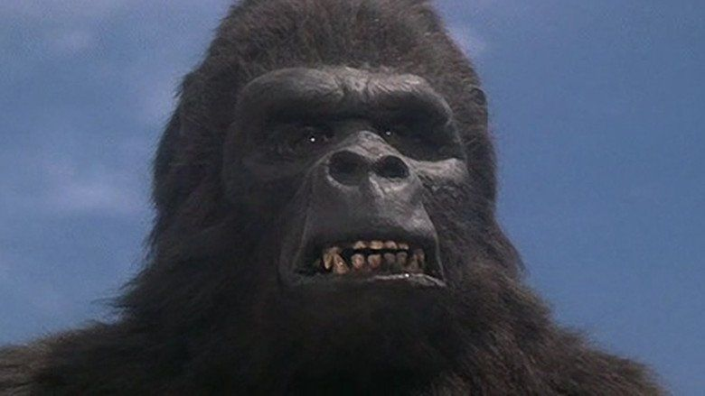 King Kong Lives movie scenes