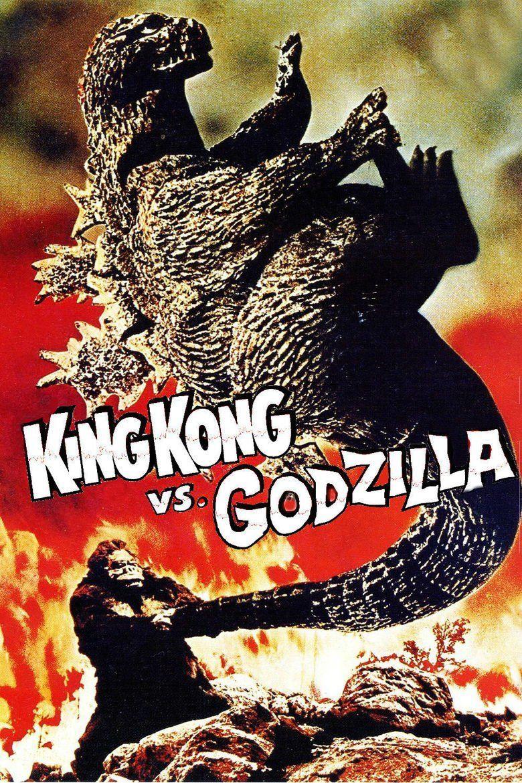 King Kong vs Godzilla movie poster