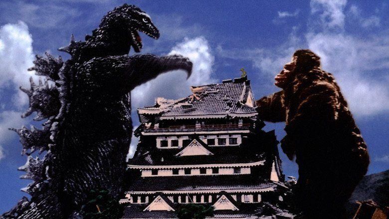 King Kong vs Godzilla movie scenes