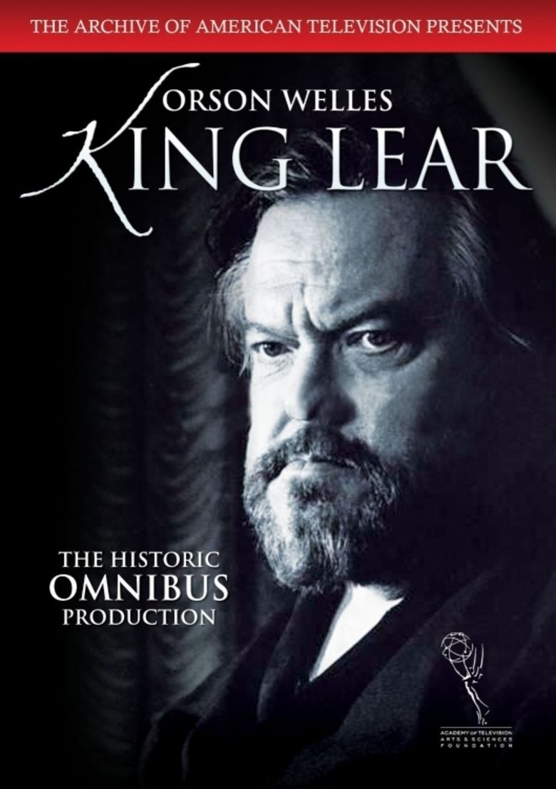 King Lear (1953 film) movie poster