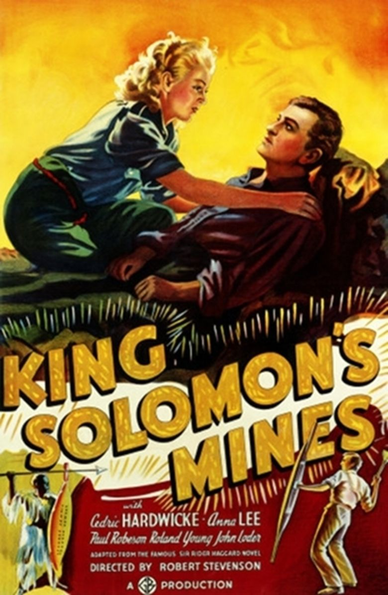 King Solomons Mines (1937 film) movie poster