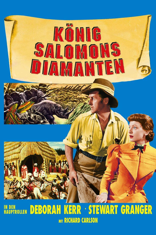King Solomons Mines (1950 film) movie poster