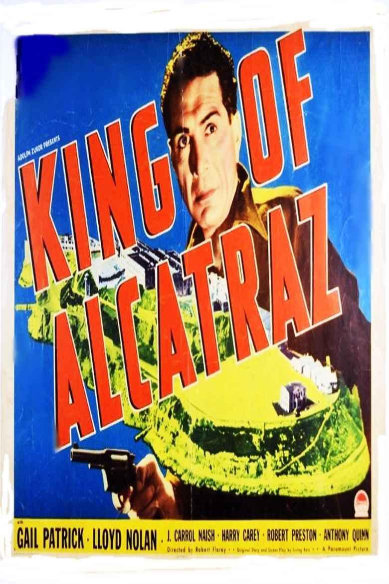King of Alcatraz movie poster