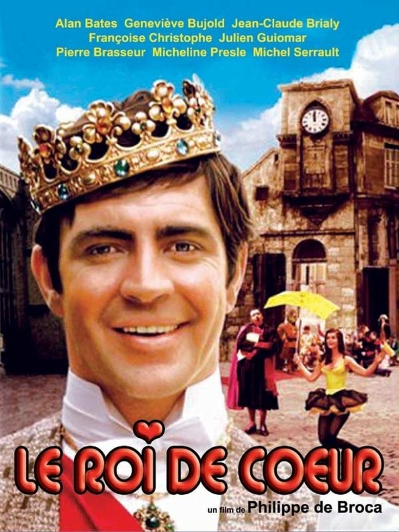 King of Hearts (1966 film) movie poster
