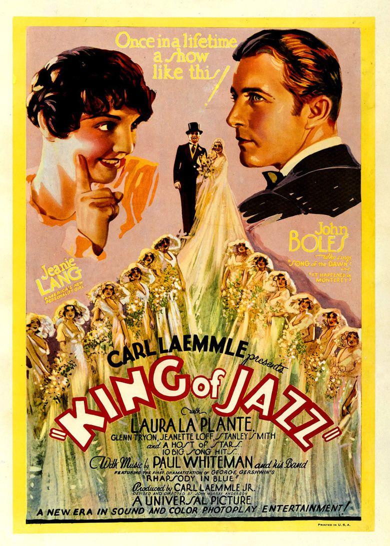 King of Jazz movie poster