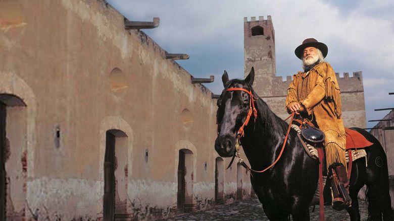 King of Texas movie scenes