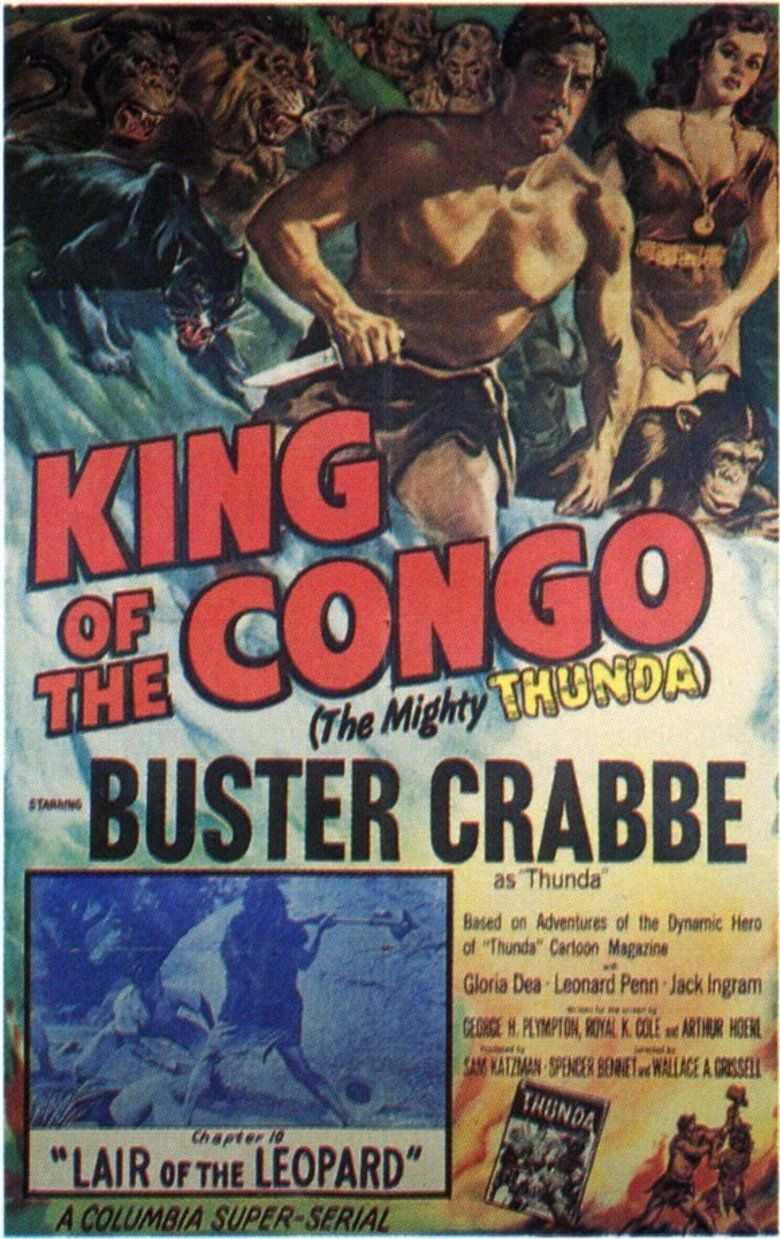 King of the Congo movie poster
