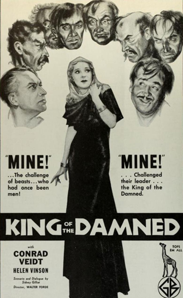 King of the Damned movie poster