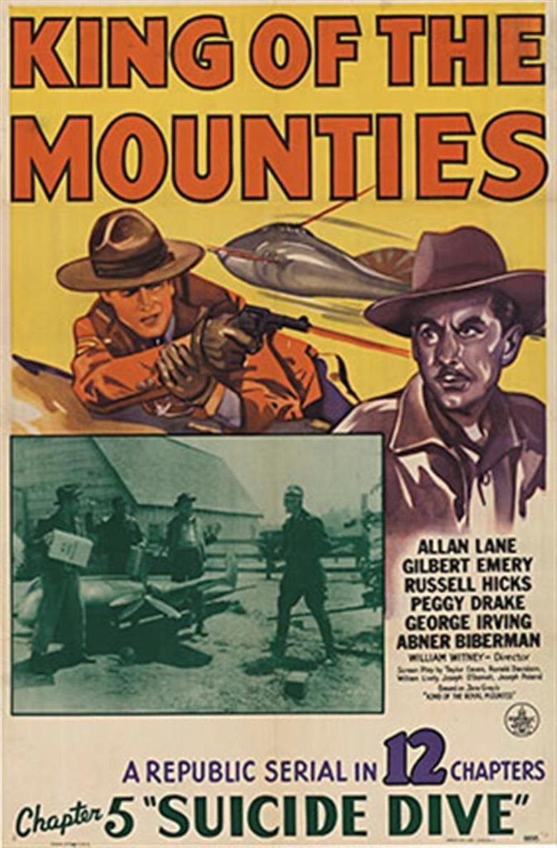 King of the Mounties movie poster