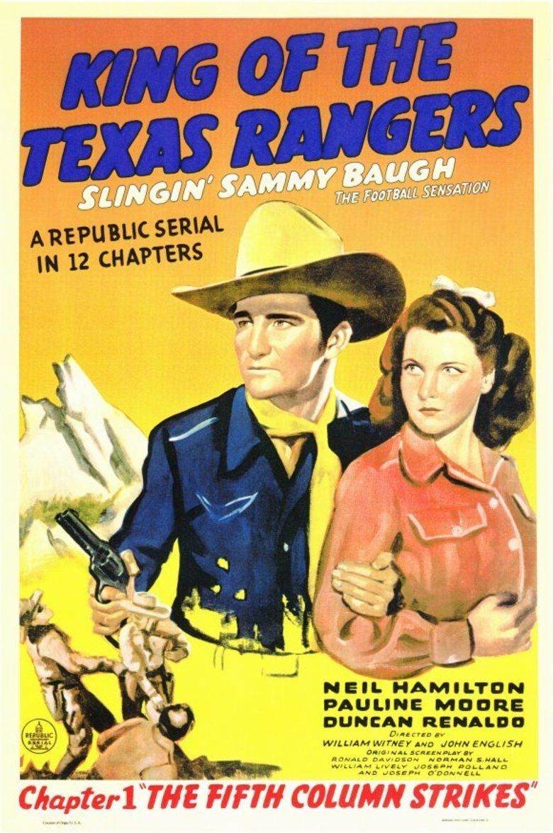 King of the Texas Rangers movie poster