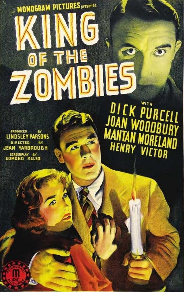 King of the Zombies movie poster