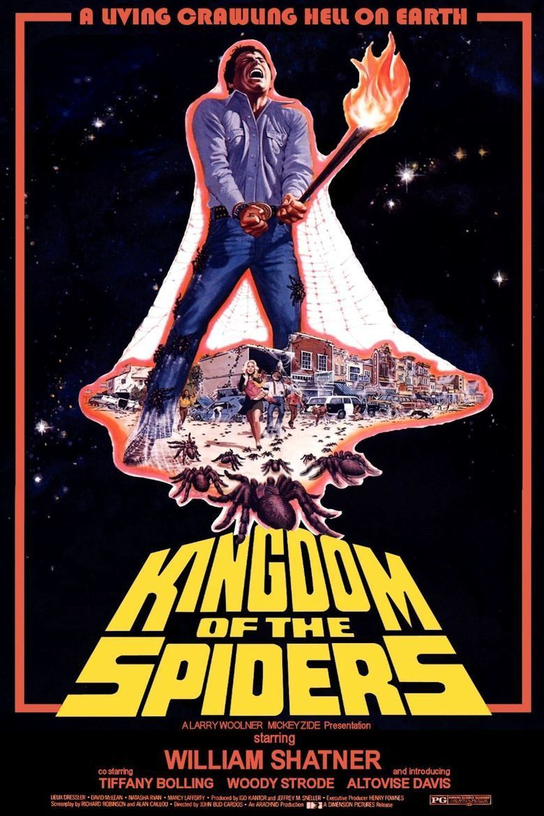 Kingdom of the Spiders movie poster