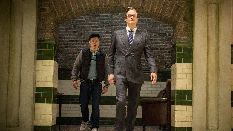 Kingsman: The Secret Service movie scenes