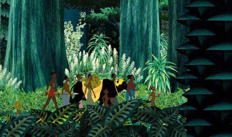 Kirikou and the Wild Beasts movie scenes