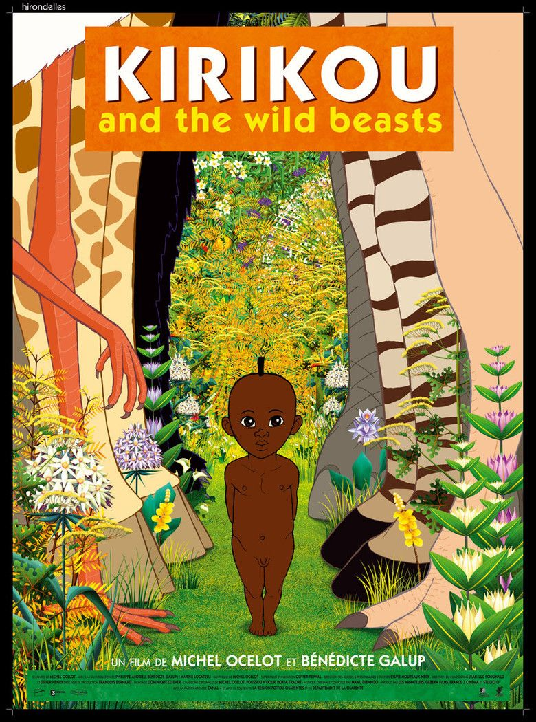 Kirikou and the Wild Beasts movie poster