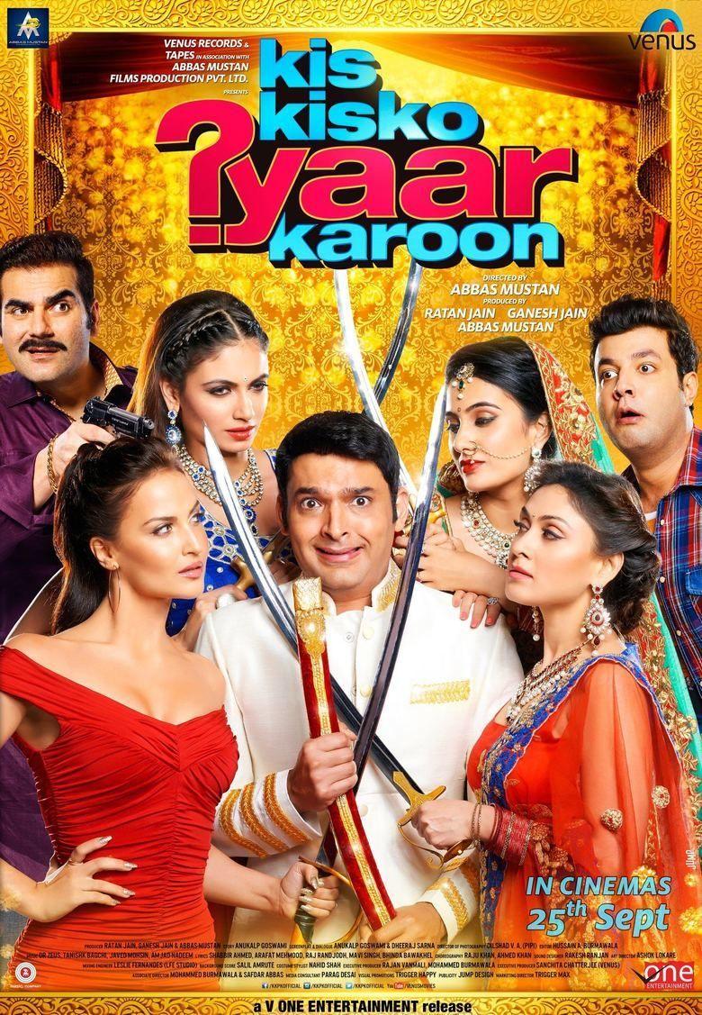 Kis Kisko Pyaar Karu movie poster