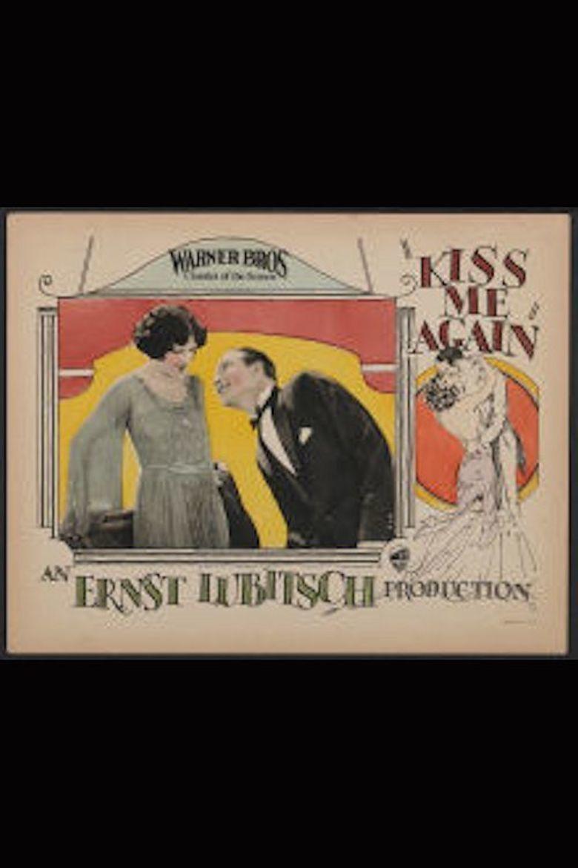 Kiss Me Again (1925 film) movie poster