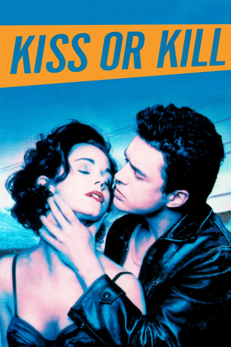 Kiss or Kill (film) movie poster