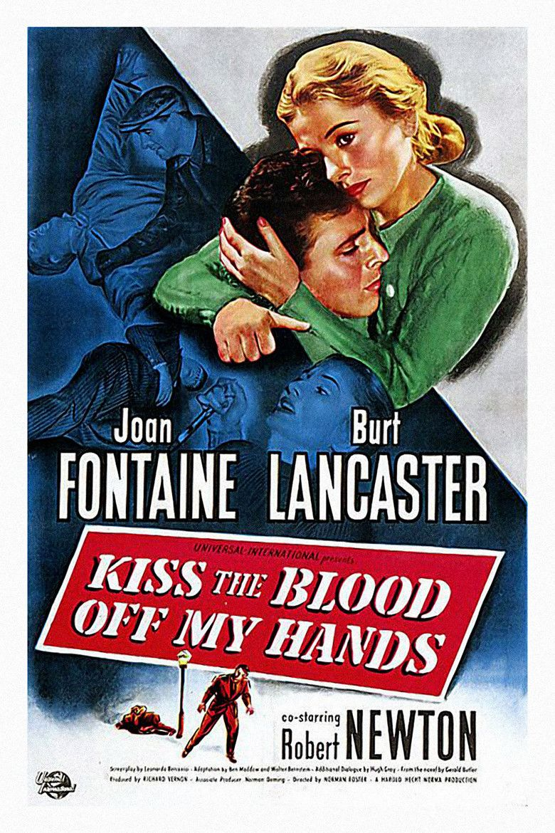 Kiss the Blood off My Hands movie poster
