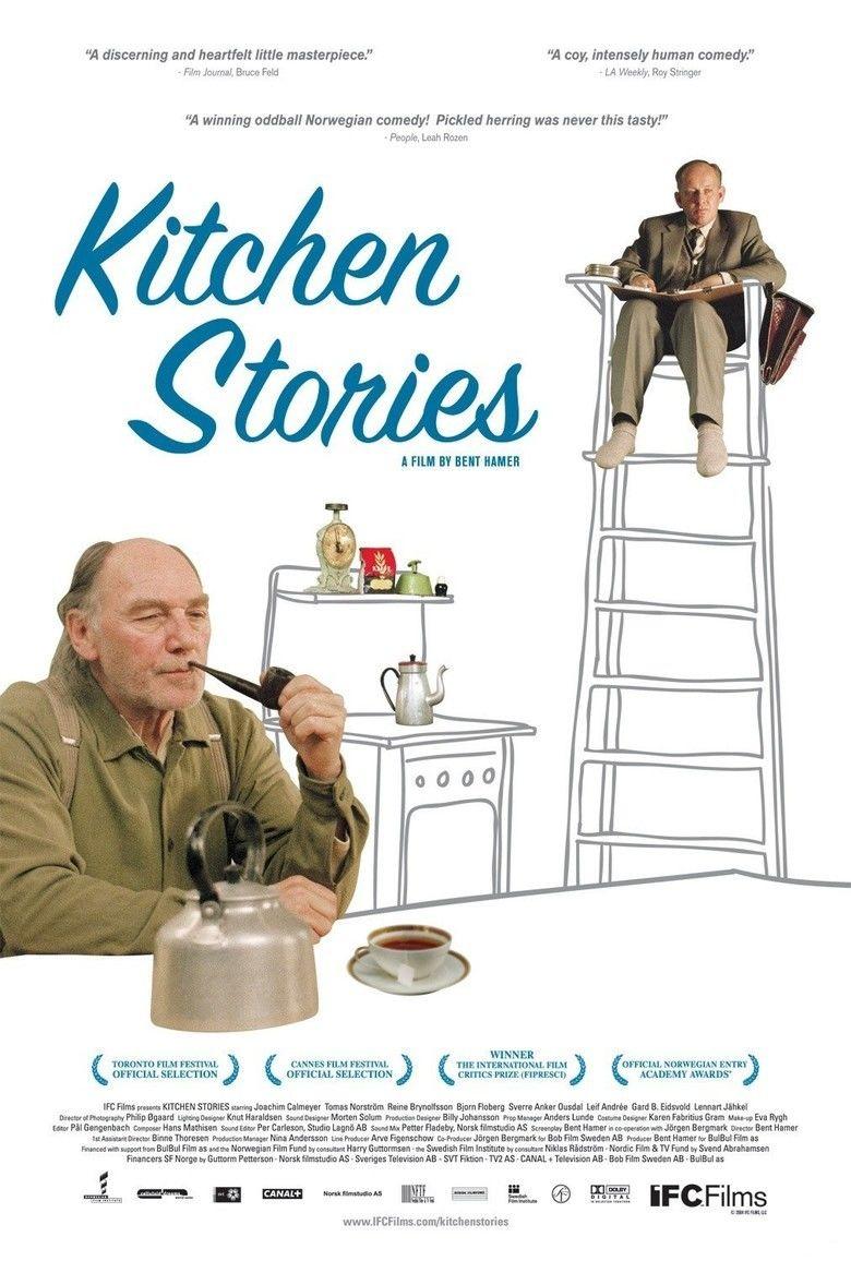 Kitchen Stories movie poster