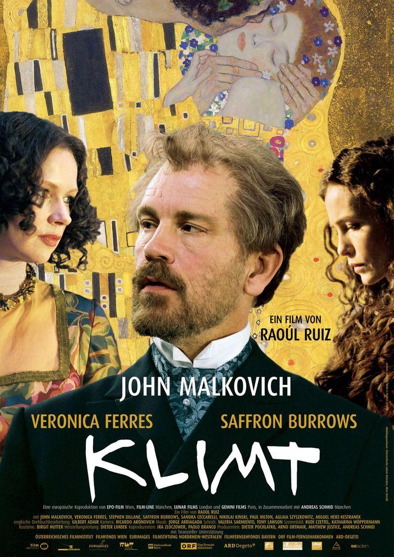 Klimt (film) movie poster