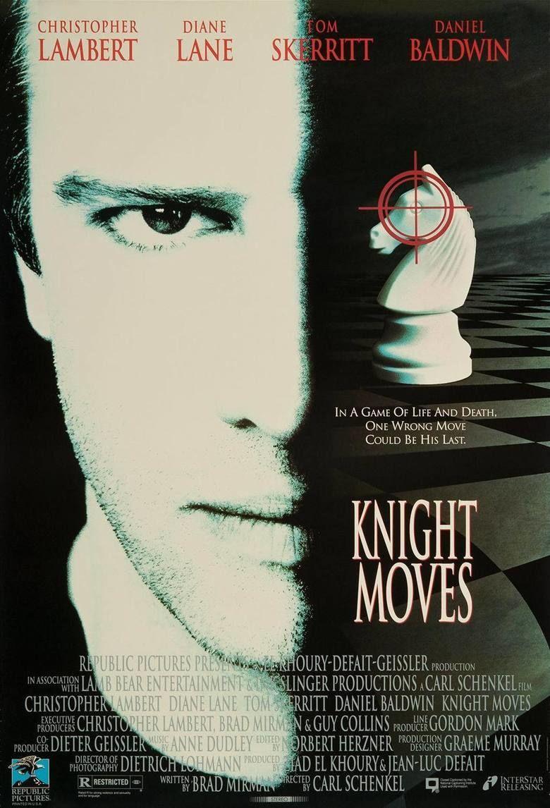 Knight Moves (film) movie poster
