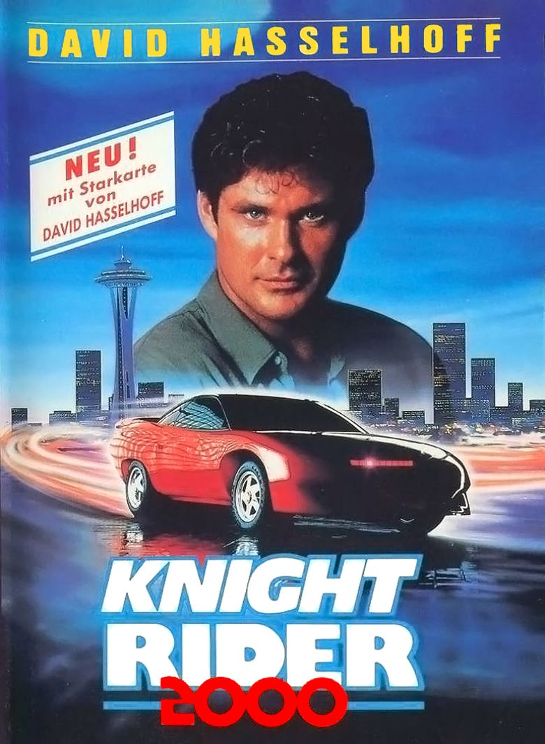 Knight Rider 2000 movie poster