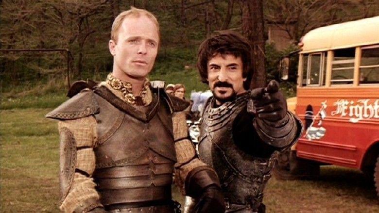 Knightriders movie scenes