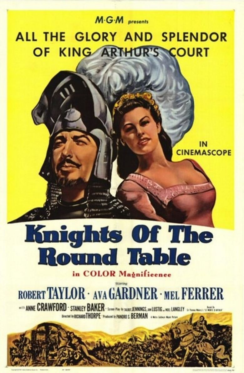 Knights of the Round Table (film) movie poster