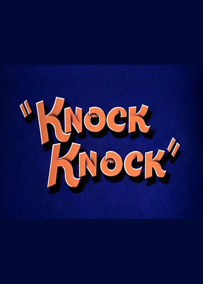 Knock Knock (1940 film) movie poster