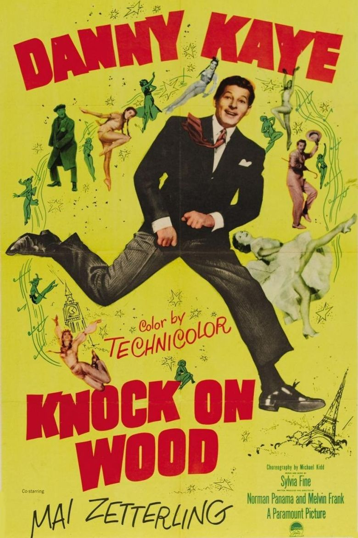 Knock on Wood (film) movie poster