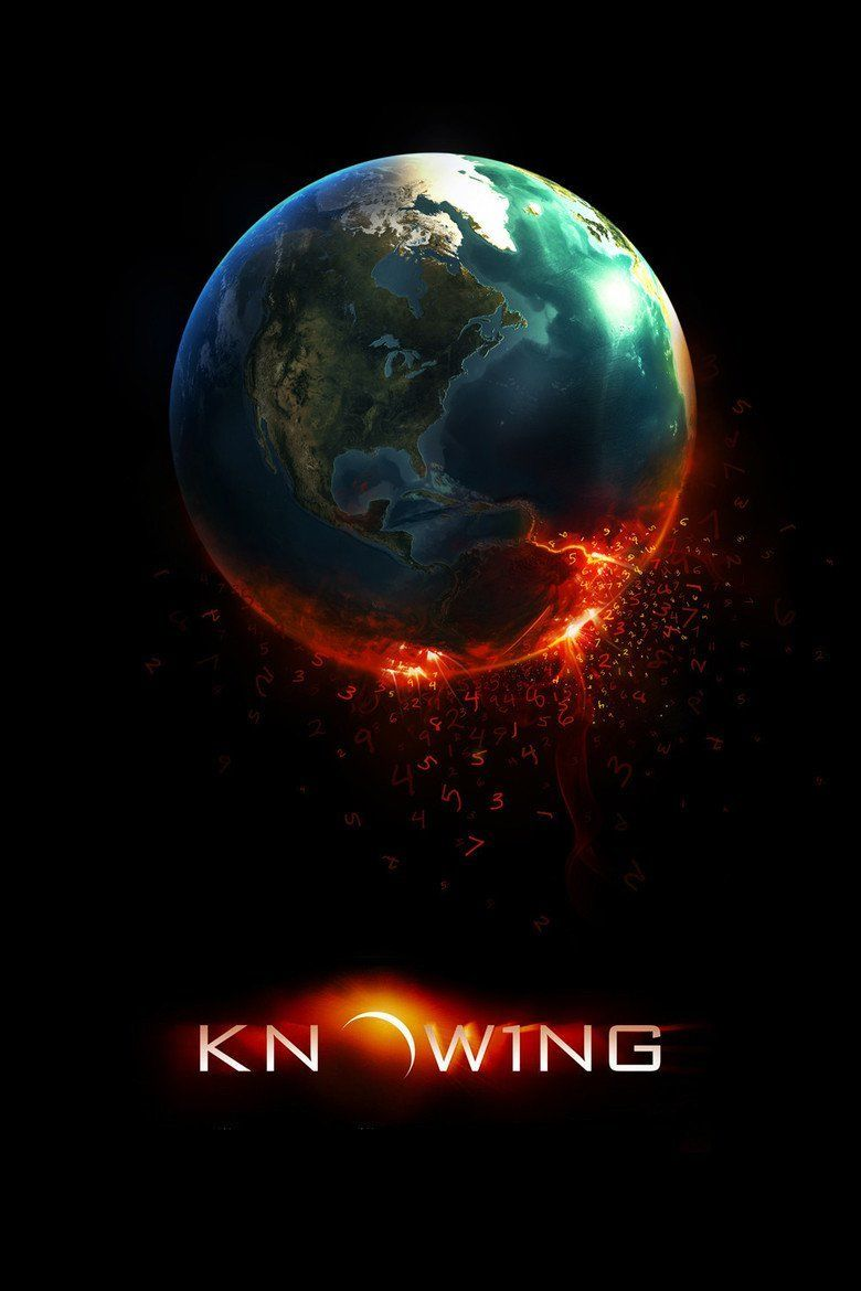 Knowing (film) movie poster