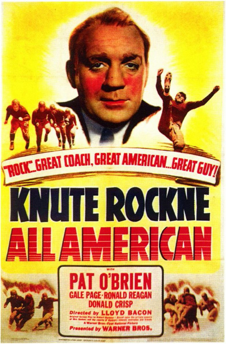 Knute Rockne, All American movie poster