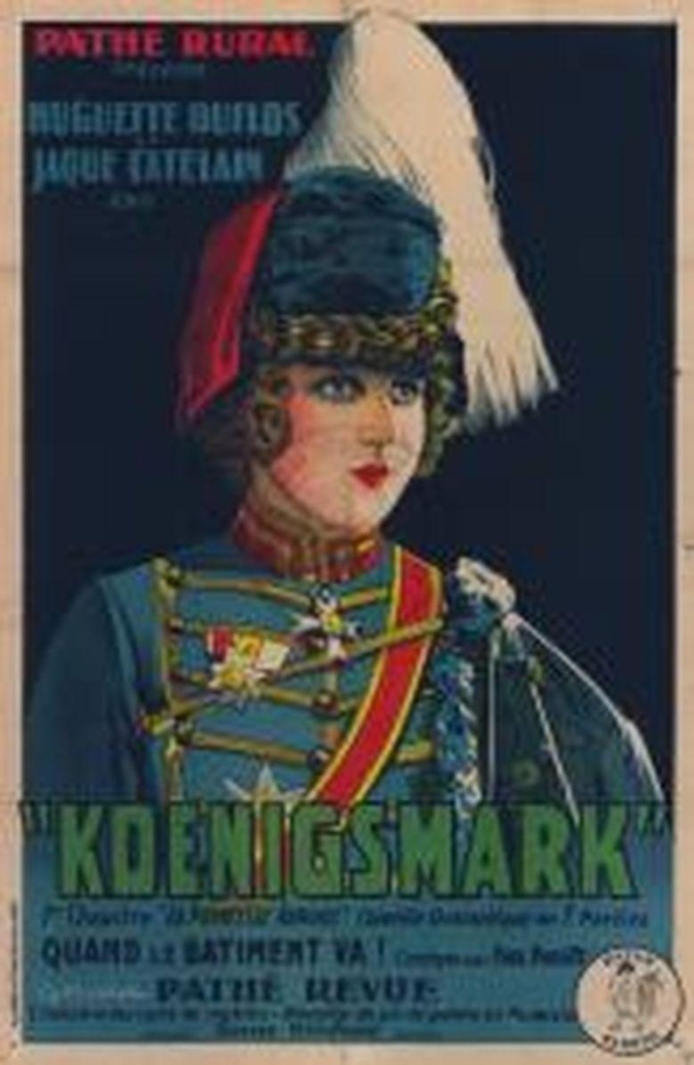 Koenigsmark (1923 film) movie poster