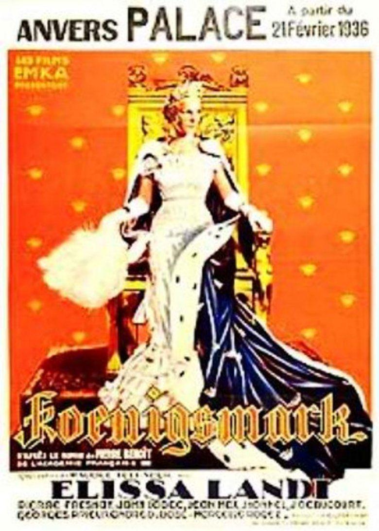 Koenigsmark (1935 film) movie poster