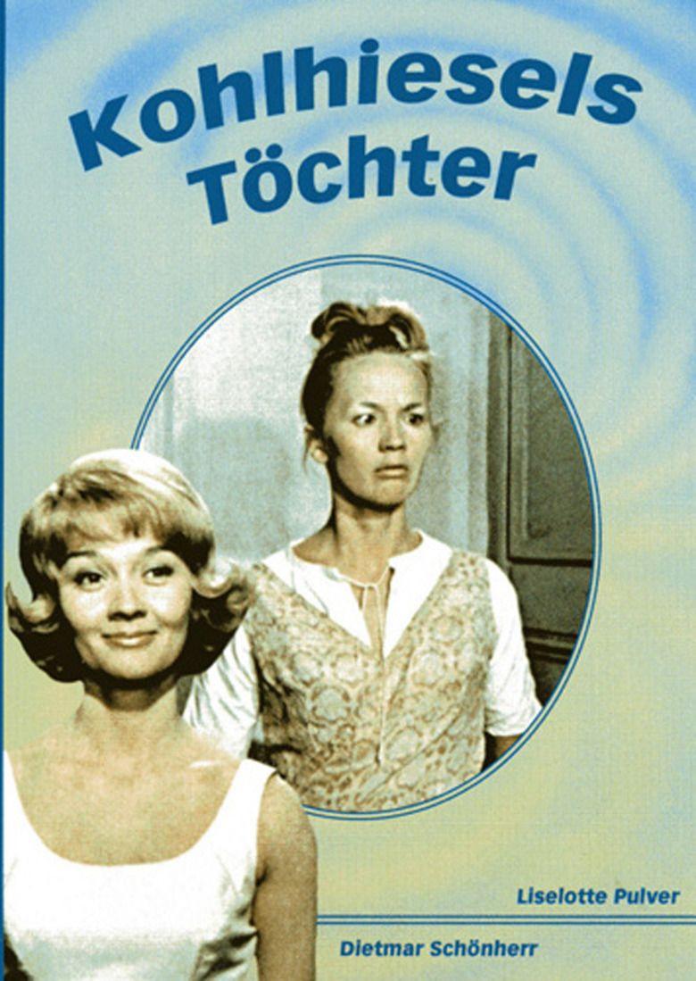 Kohlhiesels Daughters (1962 film) movie poster