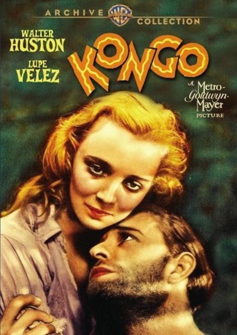 Kongo (1932 film) movie poster