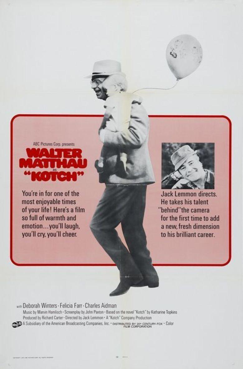 Kotch movie poster
