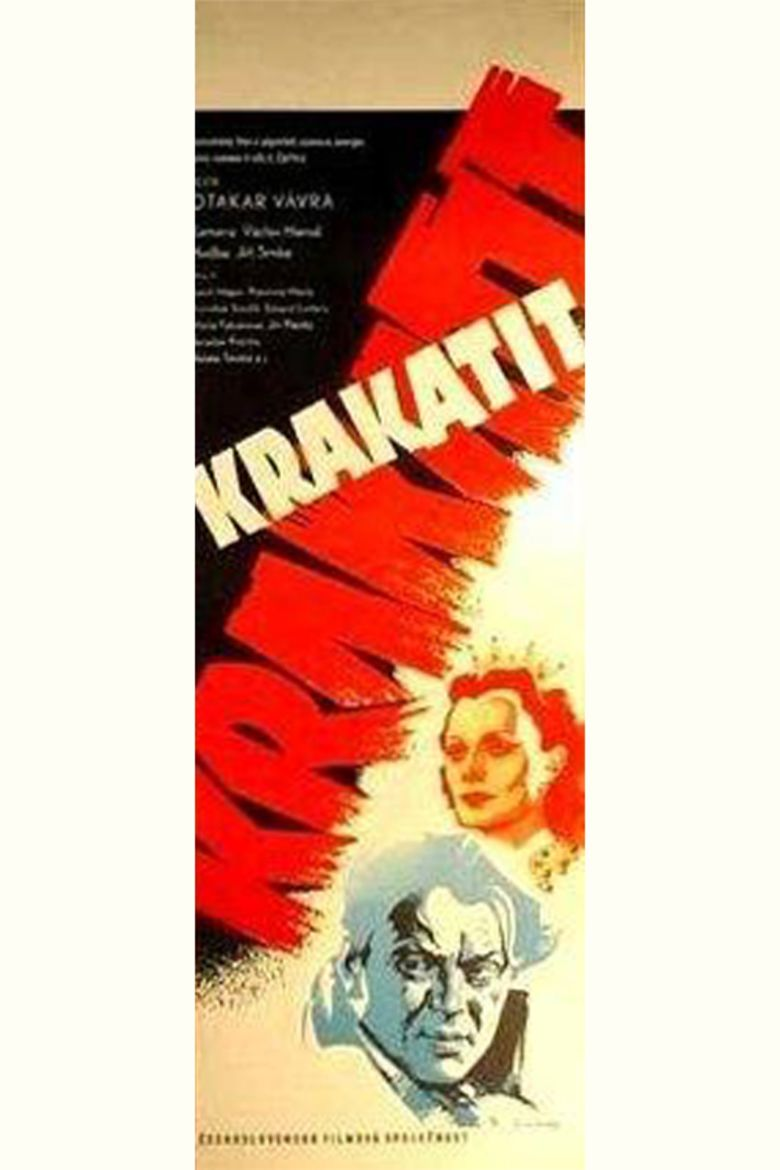 Krakatit movie poster