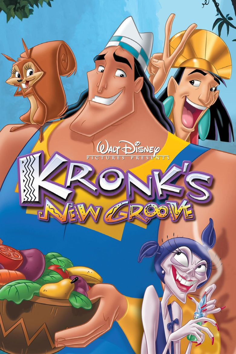 Kronks New Groove movie poster