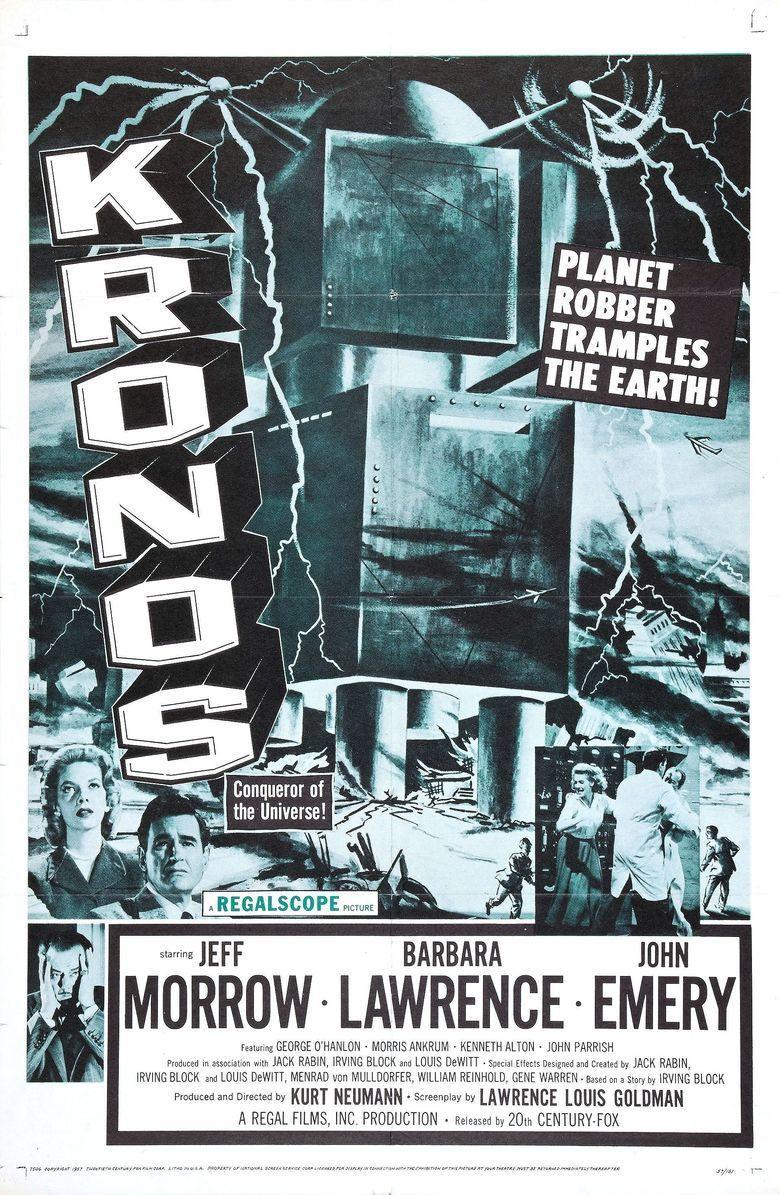Kronos (film) movie poster