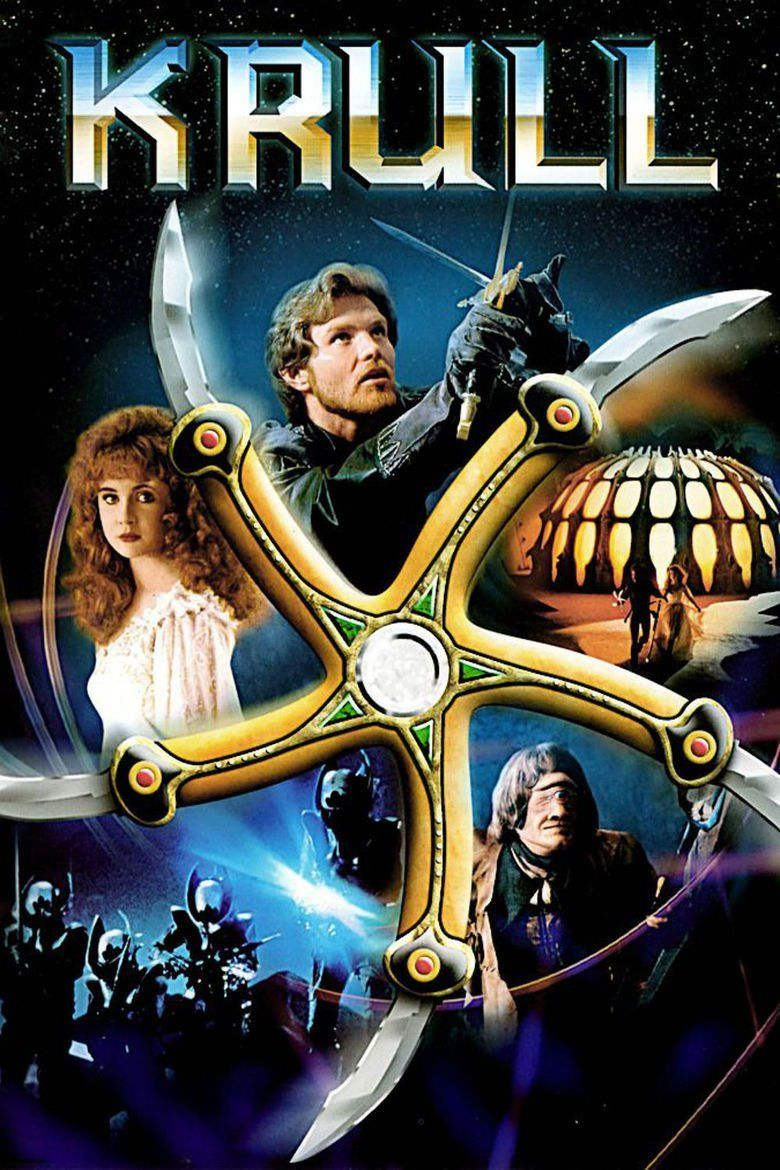 Krull (film) movie poster