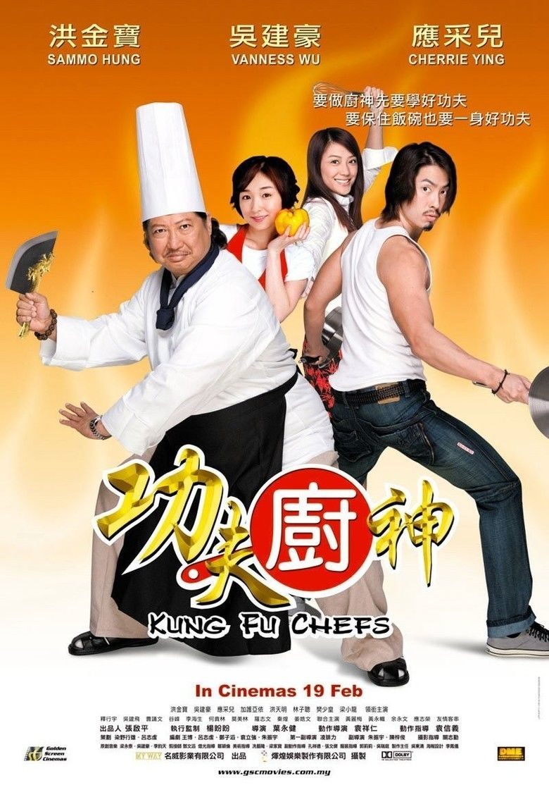 Kung Fu Chefs movie poster