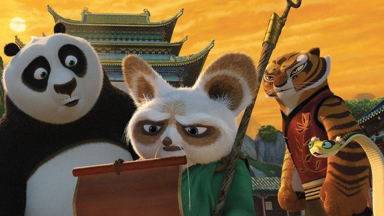 Kung Fu Panda 2 movie scenes