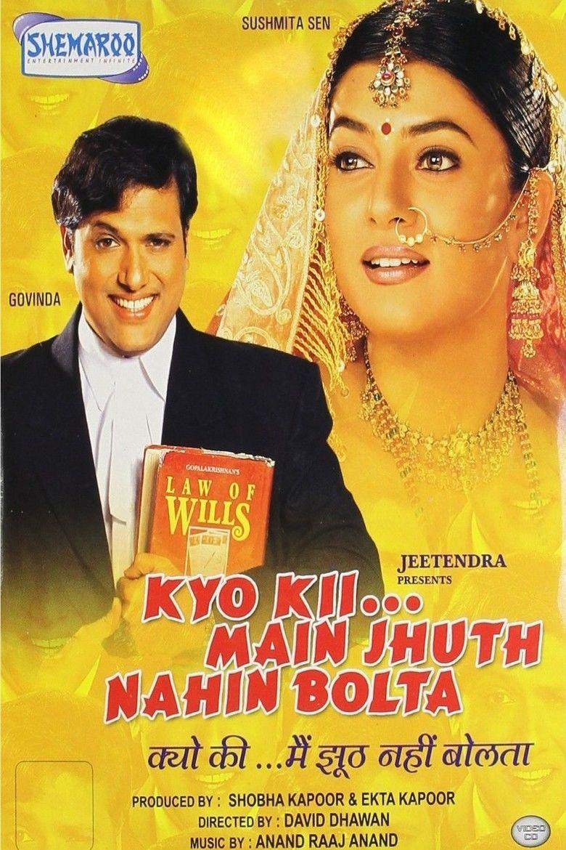 Kyo Kii Main Jhuth Nahin Bolta movie poster