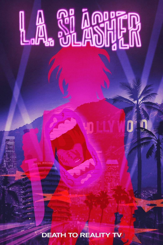 LA Slasher movie poster