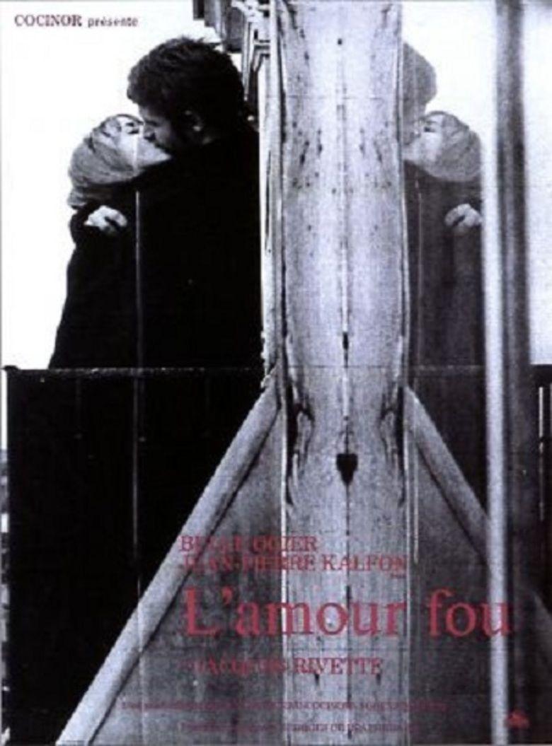 LAmour fou (1969 film) movie poster