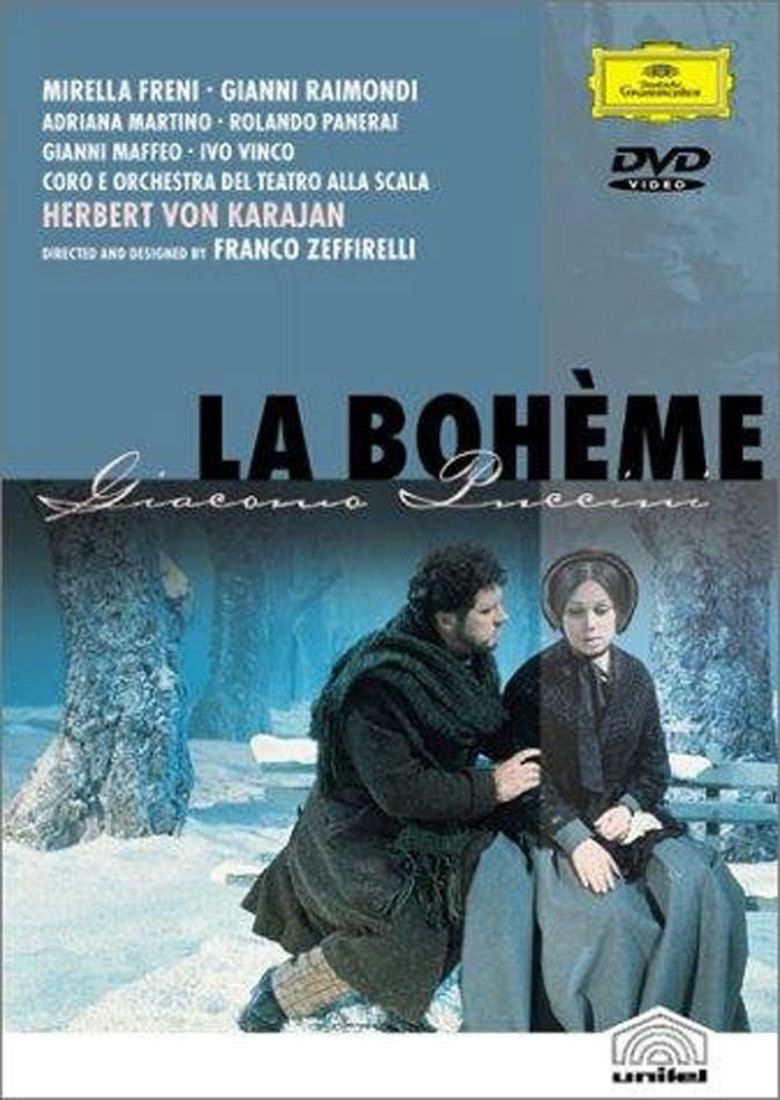 La Boheme (1965 film) movie poster