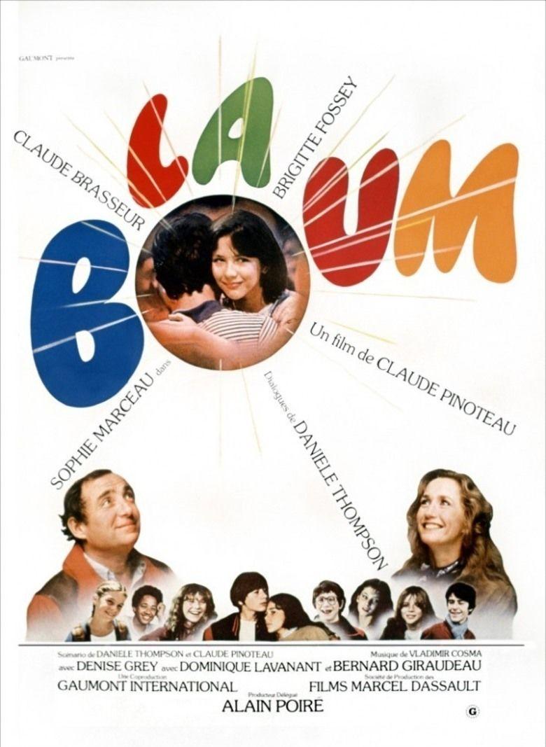 La Boum movie poster