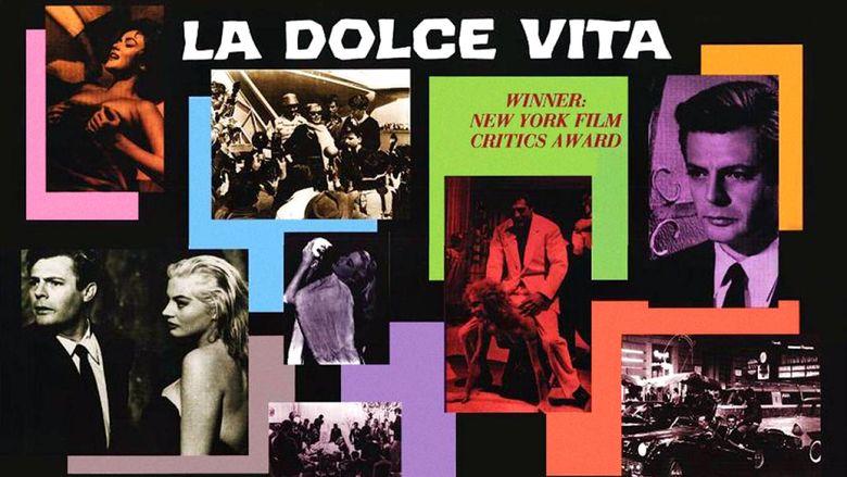La Dolce Vita movie scenes